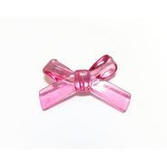 Lembrança Acrílica Laço Fita Pink