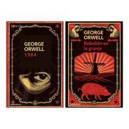 1984 + Rebelion En La Granja - Orwell - 2 Libros Bolsillo