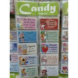 Tarjetas Candy Dia De La Madre Personales P/ Regalos X 100