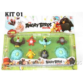 Angry Birds Bonecos Brinquedo Kits Diversos Promoção Confira