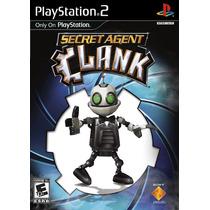 Secret Agent Clank Juego Ps2 Nuevo Con Manual