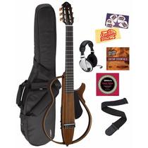 Guitarra Eléctrica Yamaha Slg200n Instrumento Con Accesorios
