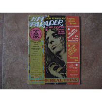 Hit Parader Revista, Black Sabbath, Alice Cooper