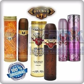 Perfume Cuba 100ml Dama Y Caballeros Originales En Tienda