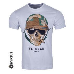 Camiseta T-shirt Concept Caveira Cool Invictus