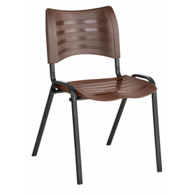 Cadeira Fixa Prisma Empilhável , Igreja , Recepção. Top