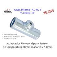 Adaptador Universal Sensor Temperatura 38mm Rosca 10 X 1,0mm