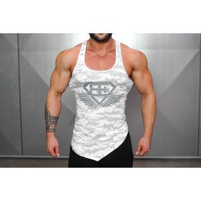 Camisetas Gimnasio Camuflaje Tanktop Body Engineer Gym Shark