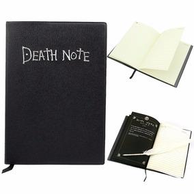 Caderno Death Note + Pena Pronta Entrega Couro Sintético