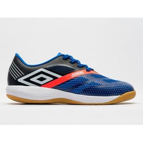 Chuteira Futsal Umbro - Chuteiras Umbro de Futsal para Adultos Azul ... 54c2a5f0c960c