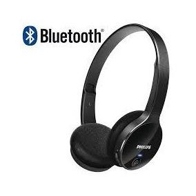 Audífonos Bluetooth Estéreo Marca Philips Color Negro