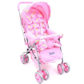 Carrinho De Bebê Berço Pink Até 15kg Petit Bambino