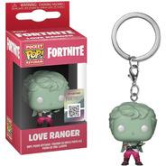 Chaveiro Mini Boneco Pop Funko Fortnite Love Ranger