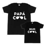 Kit Playeras Papá E Hijo Cool- Día Del Padre 3 Playeras