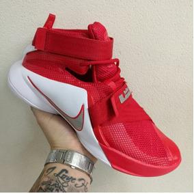 Botas Zapatillas Nike Lebron Soldier 9 Roja Mujer Env Gr