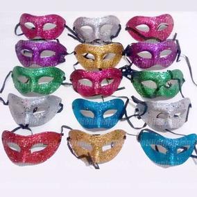 50 Antifaces Surtidas Mascaras Venecianas Careta Cotillon