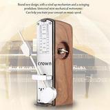Metrónomo Universal Mecánica Portátil Para Piano Guitarra...