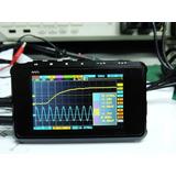 Osciloscópio Portátil Digital Ds203 Metal 4 Canais 72msa/s