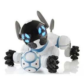 Robot Perro Inteligente Chip Wowwee Toy Dog Blanco Evotech