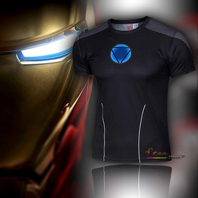 Pronta Entrega - Camiseta Marvel Ironman Homem De Ferro