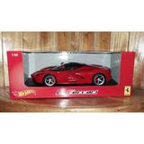 Hot Wheels La Ferrari Rojo Escala 1/18