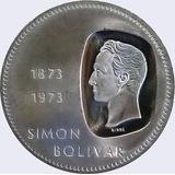 Moneda Doblon De Plata Venezolano