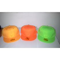 Gorra Plana Snapback Unicolor Broche Ajustable