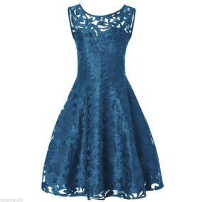 Vestido De Encaje Modelo Vintage Tallas Grandes