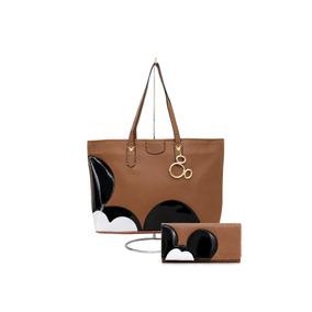 Bolsa Mickey Feminina +carteira,grande Imperdível