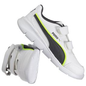 Tênis Puma Step Fleex Fs Sl V Infantil Branco