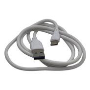 Cable Usb Tipo C, De 1 Mt, Carga Rápida, Buena Calidad, Goma