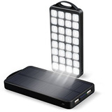 Ec Technology 10000mah Banco Energia Solar Painel Solar Carr