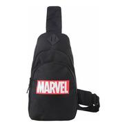 Bolsa Miniso Marvel - Cor Preta