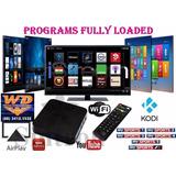 Ott Smartv Box Full Hd Mxq 4k Android 6.0 Smart Tv Wifi Show