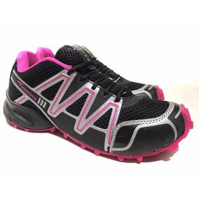 Zapatilla De Mujer Para Running Deportiva Tunning