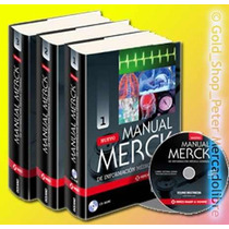 Manual Merck Información Médica General Con Cdrom Envio Grat