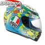 Casco Agv K3 Wake Up Integral Valentino Rossi Gp Moto Dompa