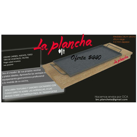 Plancheta De 50 X 25 3.4mm Para Cocinar Griddle