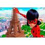 Painel Ladybug - 2,00 X 1,00m, Minions, Frozen, Miraculous