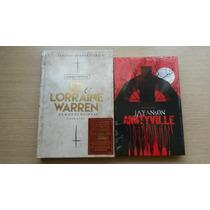 Livro Amityville Darkside Jan Anson + Ed & Lorraine Warren