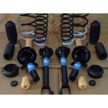 Amortecedores+molas+kit Batentes De Ford Ka (frente E Tras.)