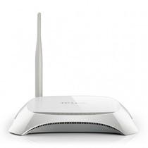 Roteador 150mbps Tp-link Wireless N 1 Antena 4 Portas Lan