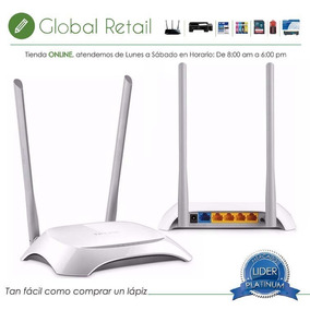 Router Inalambrico Tp-link Tl-wr840n 300mbps Pc Lan Red Wifi