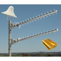 Kit Amplificador Repetidor Señal Telcel Gsm Edge Rural 2g