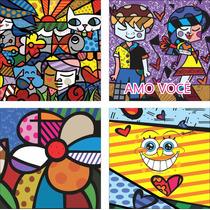 Imagem Vetores Romero Brito 90 Opçoes - Formato Cdr\jpg\png