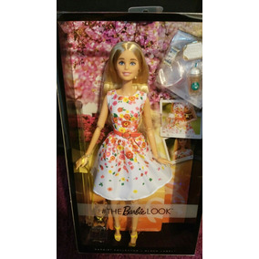 Barbie Look Park Pretty Etiqueta Negra Articulada