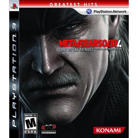 Metal Gear Solid 4: Guns Of The Patriots Ps3 Fisico Nuevo