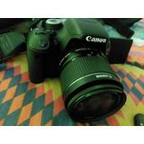 Camara Canon T3i + Bolso