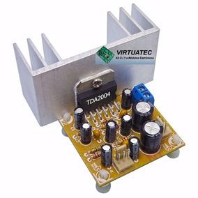Amplificador Tda2004 6.5w+6.5w + Tonal Passivo