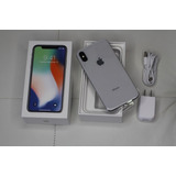 Brand New Apple Iphone X - 256gb - Silver ( Factory Unlocked
